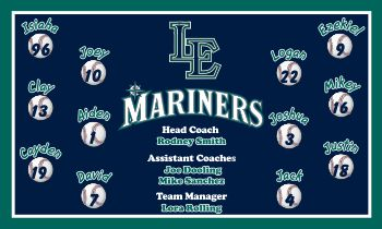 Mariners Baseball Banner - Custom Mariners Baseball Banner