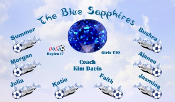 Diamonds Soccer Banner - Custom DiamondsSoccer Banner