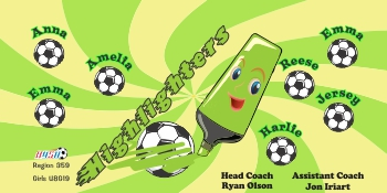 Highlighters Soccer Banner - Custom HighlightersSoccer Banner