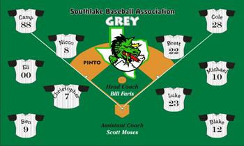 Miscellaneous Team Name Baseball Banner - Custom Miscellaneous Team Name Baseball Banner