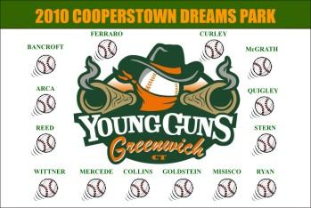 Cooperstown Baseball Banner - Custom Cooperstown Baseball Banner