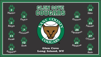 Kane County Cougars Baseball Banner - Custom Kane County Cougars Baseball Banner
