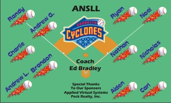 Brooklyn Cyclones Baseball Banner - Custom Brooklyn Cyclones Baseball Banner