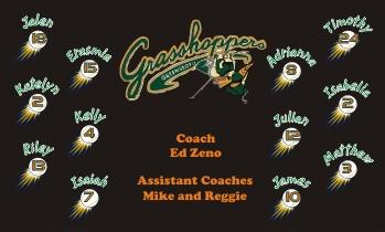 Greensboro Grasshoppers Baseball Banner - Custom Greensboro Grasshoppers Baseball Banner