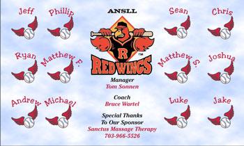 Rochester Red Wings Baseball Banner - Custom Rochester Red Wings Baseball Banner