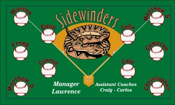 Tucson Sidewinders Baseball Banner - Custom Tucson Sidewinders Baseball Banner