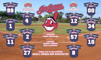 Indians Baseball Banner - Custom Indians Baseball Banner