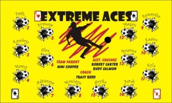 Aces Soccer Banner - Custom AcesSoccer Banner