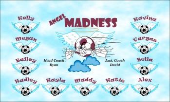 Angels Soccer Banner - Custom AngelsSoccer Banner