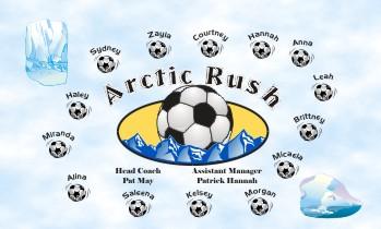 Arctic Soccer Banner - Custom Arctic Soccer Banner