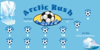 Arctic Soccer Banner - Custom ArcticSoccer Banner