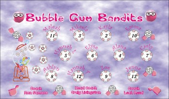Bandits Soccer Banner - Custom BanditsSoccer Banner