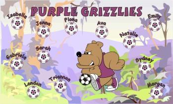 Bears Soccer Banner - Custom Bears Soccer Banner