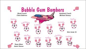 Bombs Soccer Banner - Custom BombsSoccer Banner