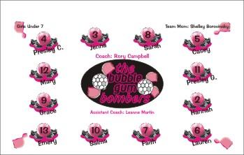 Bubbles Soccer Banner - Custom Bubbles Soccer Banner