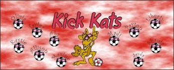 Cats Soccer Banner - Custom Cats Soccer Banner