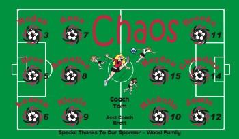 Chaos Soccer Banner - Custom Chaos Soccer Banner