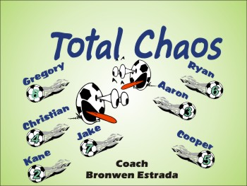 Chaos Soccer Banner - Custom ChaosSoccer Banner