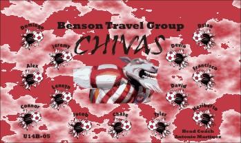 Chivas Soccer Banner - Custom Chivas Soccer Banner