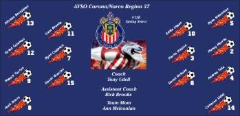 Chivas Soccer Banner - Custom ChivasSoccer Banner