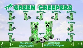 Creepers Soccer Banner - Custom Creepers Soccer Banner