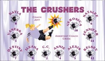Crush Soccer Banner - Custom CrushSoccer Banner
