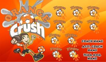 Crush Soccer Banner - Custom Crush Soccer Banner