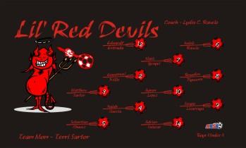 Devils Soccer Banner - Custom DevilsSoccer Banner