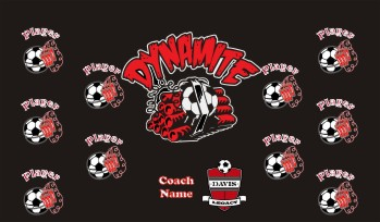 Dynamite Soccer Banner - Custom DynamiteSoccer Banner