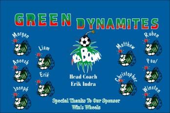 Dynamite Soccer Banner - Custom Dynamite Soccer Banner