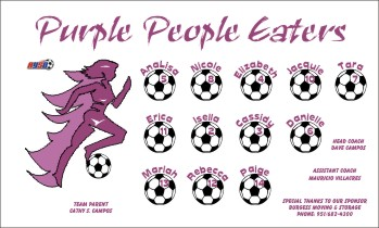 Eaters Soccer Banner - Custom Eaters Soccer Banner