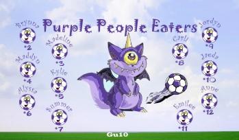 Eaters Soccer Banner - Custom EatersSoccer Banner
