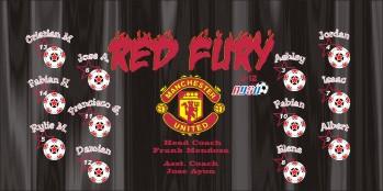 Fury Soccer Banner - Custom FurySoccer Banner