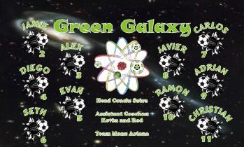 Galaxy Soccer Banner - Custom GalaxySoccer Banner