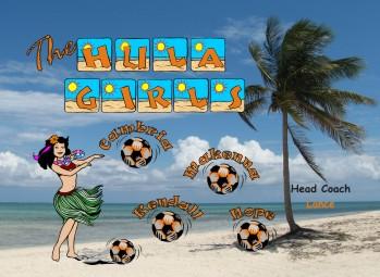 Girls Soccer Banner - Custom Girls Soccer Banner