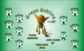 Goblins Soccer Banner - Custom Goblins Soccer Banner