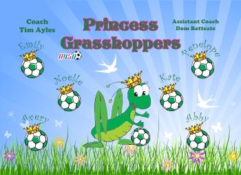 Grasshoppers Soccer Banner - Custom Grasshoppers Soccer Banner