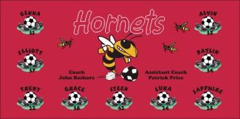 Hornets Soccer Banner - Custom HornetsSoccer Banner