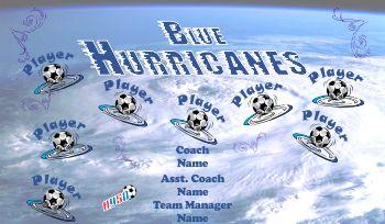 Hurricanes Soccer Banner - Custom Hurricanes Soccer Banner