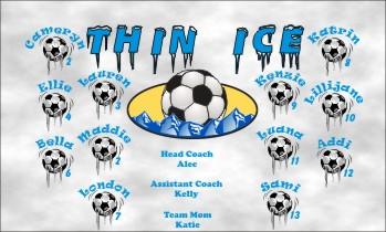 Ice Soccer Banner - Custom IceSoccer Banner
