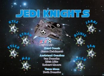 Jedi Soccer Banner - Custom JediSoccer Banner