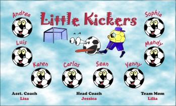 Kickers Soccer Banner - Custom Kickers Soccer Banner