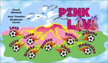 Lava Soccer Banner - Custom Lava Soccer Banner