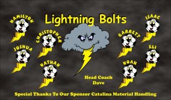 Lightning Soccer Banner - Custom Lightning Soccer Banner