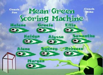 Machines Soccer Banner - Custom MachinesSoccer Banner