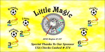Magic Soccer Banner - Custom MagicSoccer Banner