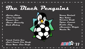 Penguins Soccer Banner - Custom PenguinsSoccer Banner