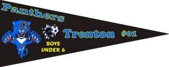 Pennants Soccer Banner - Custom Pennants Soccer Banner
