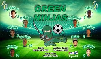 Photo Soccer Banner - Custom Photo Soccer Banner