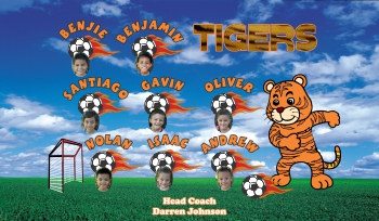 Photo Soccer Banner - Custom PhotoSoccer Banner